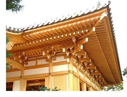 宮大工が建てる社寺建築