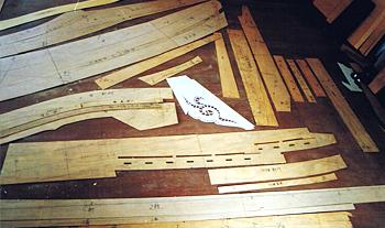 いろいろな形の原寸型板