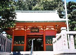 天福寺山門(千葉県千葉市、真言宗)