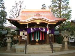月見岡八幡神社(東京都新宿区)