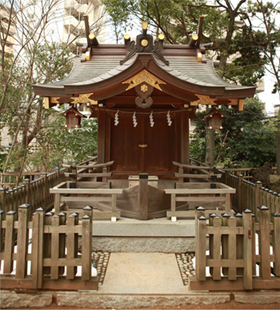 船玉神社(千葉県船橋市 船橋大神宮境内社)