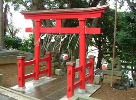 熊野神社鳥居(千葉県船橋市)