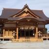 道野辺八幡神社外拝殿(千葉県鎌ヶ谷市)