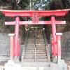 小室八幡神社鳥居(千葉県船橋市)