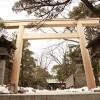 船橋大神宮二ノ鳥居(千葉県船橋市)