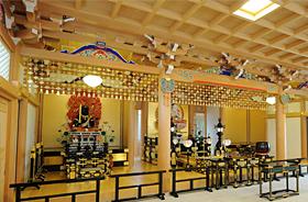 明王院大日堂(千葉県船橋市、真言宗)室内