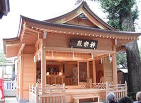 松戸神社 神楽殿新築工事