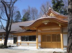 氷川神社 儀式殿 新築工事(東京都練馬区)